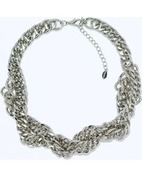 Zara Chain Necklace - Lyst