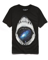 21men Shark Bite Tee - Lyst