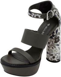 Mulberry - Lizzie Platform Sandal - Lyst