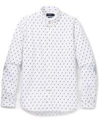 Paul Smith Lightning Print Shirt - Lyst