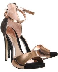 Office Gold Salvation Sandal - Lyst