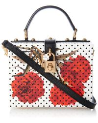 Dolce & Gabbana Miss Dolce Printed Box Shoulder Bag - Lyst