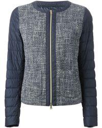 Herno Padded Sleeve Jacket - Lyst