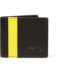 Pink Pony - Perforated Leather Billfold - Lyst