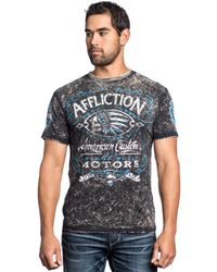 Affliction Prohibition Graphic Tshirt - Lyst