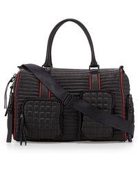 L.A.M.B. Eady Leather Satchel Bag - Lyst