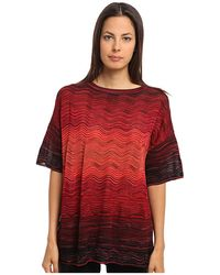 M Missoni Degrade Ripple Knit Tunic - Lyst