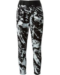 Helmut Lang 'Tera Print' Trousers - Lyst