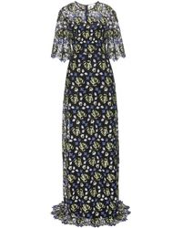 Erdem Carlene Floor-length Lace Dress - Lyst