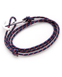 Miansai Modern Anchor Wrap Bracelet - Lyst
