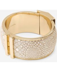 Cole Haan | Wide Snake Bangle | Lyst