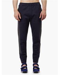 Marni Men'S Navy Cotton Sweatpants blue - Lyst
