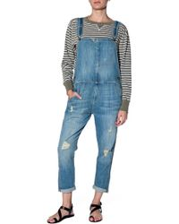Current/Elliott Overalls - Lyst