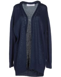 Cacharel Cardigan blue - Lyst