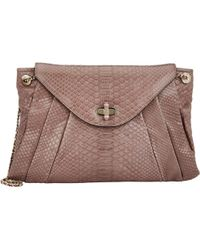 Zagliani - Claudia Medium Shoulder Bag-brown - Lyst