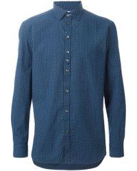 Diesel 'S-Giamma' Shirt blue - Lyst
