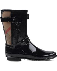 Burberry   Rain & Cold Weather Boots   Lyst