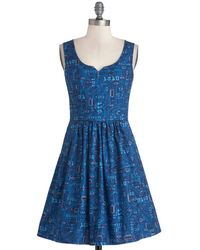 ModCloth As Days Go Binary Dress - Lyst