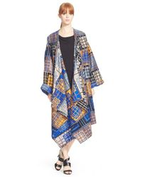 Tracy Reese - Plaid Blanket Coat - Lyst