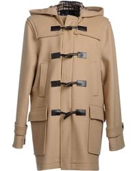 Aquascutum Brown Coat - Lyst