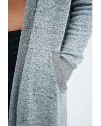 Sparkle & Fade - Hooded Duster Cardigan - Lyst