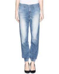 Rag & Bone - 'The Pajama' Washed Cotton Jeans - Lyst