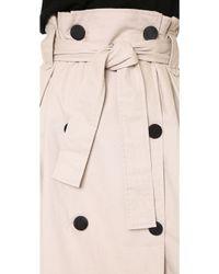 Shakuhachi - Paper Bag Trench Skirt - Lyst