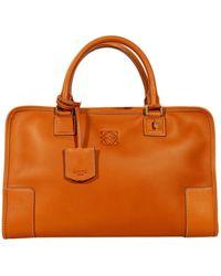 Loewe Handbag Amazona Kipleather - Lyst