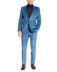 Hugo Boss Hugegenius  Slim Fit Cotton Corduroy Suit - Lyst