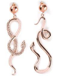 Luxury Fashion Snake Earrings - Lyst