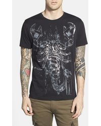 Diesel 'Menas' Graphic T-Shirt - Lyst