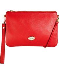 Osprey London - Beaula Pouch Leather Across Body Bag - Lyst