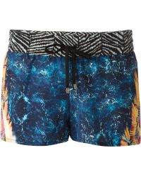 We Are Handsome - Digital Print Shorts - Lyst