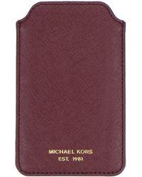 MICHAEL Michael Kors Purple Hitech Accessory - Lyst