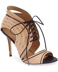L.A.M.B. - Halifax Leather Sandals - Lyst