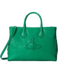 Vivienne Westwood Oversized Orb Convertible Tote - Lyst