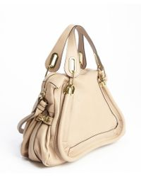 Chloé Dove Leather Paraty Convertible Satchel - Lyst