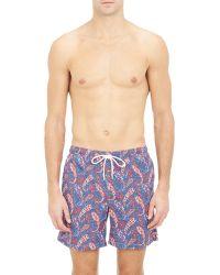 Petronius - Paisley Swim Shorts-Multi Size S - Lyst