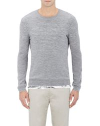 ATM - Waffle-stitched Sweater - Lyst