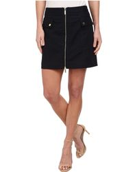 MICHAEL Michael Kors Cargo Zip Mini Skirt - Lyst