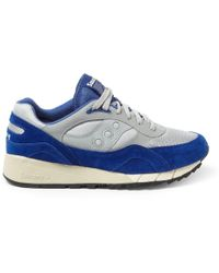 Saucony Shadow Suede and Mesh Sneakers - Lyst