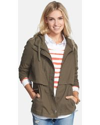 Hinge Hooded Cotton-Canvas Jacket - Lyst