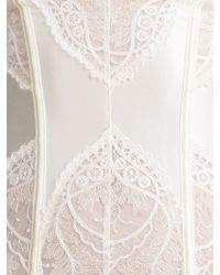 Somerset by Alice Temperley - Gatsby Bridal Basque And Suspenders - Lyst