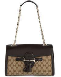 Gucci 'Emily Ssima' Shoulder Bag - Lyst