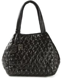 Sonia by Sonia Rykiel Studded Shopping Tote black - Lyst