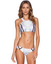 Beach Riot Rio Bikini Top - Lyst