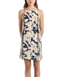 3.1 Phillip Lim Sundress With Pintucked Sides In Navy - Lyst