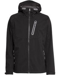 H&M Softshell Jacket black - Lyst