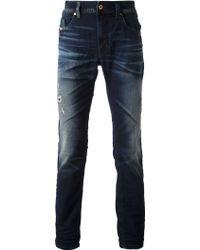 Diesel Thavar Slim Fit Jeans - Lyst