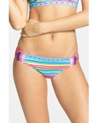 Nanette Lepore Women'S 'Flora Fiesta Charmer' Bikini Bottoms - Lyst